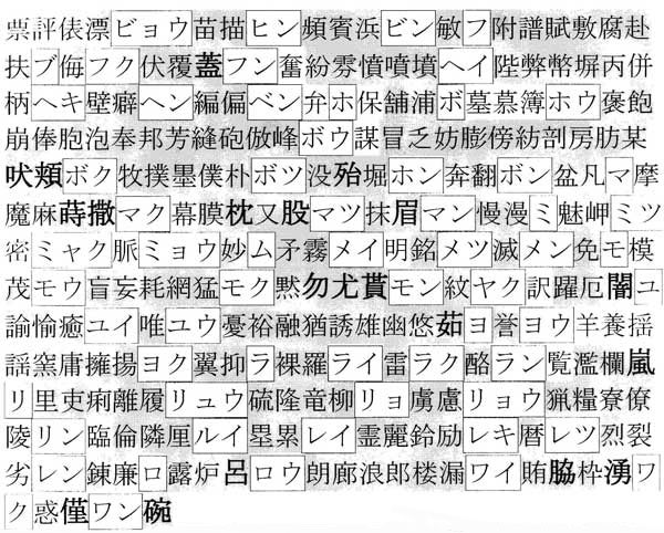 Иероглиф на японском кот